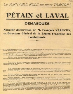 F Valentin Petain et Laval demasques