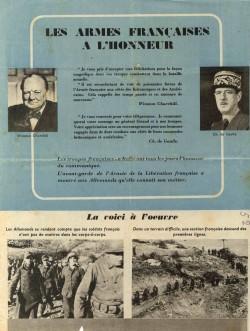Les armes francaises a lhonneur 1